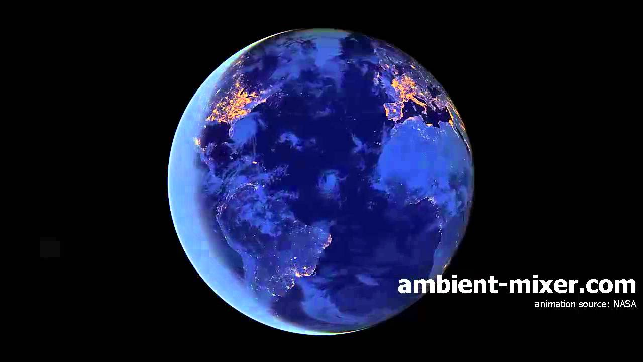Ambient Mixer rotating earth with ambient sounds - youtube