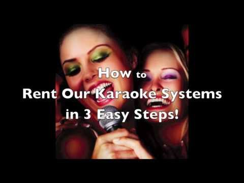 How to Rent a Karaoke System at www.NationwideKaraoke.com