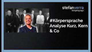 Kurz, Kern und Co analysiert von Körpersprache-Experte Stefan Verra TV Media Teil 1