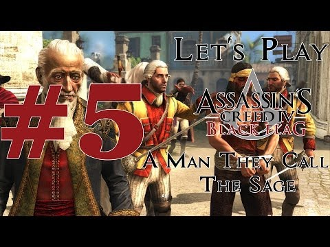 Let's Play Assassin's Creed IV: Black Flag (PS4) Part 5 A Man They Call The Sage