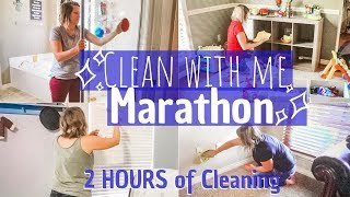 MARATHON CLEAN WITH ME 2019 / EXTREME CLEANING MOTIVATION / 2 HOURS OF CLEANING