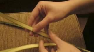 Tressage de rameaux à 4 feuilles