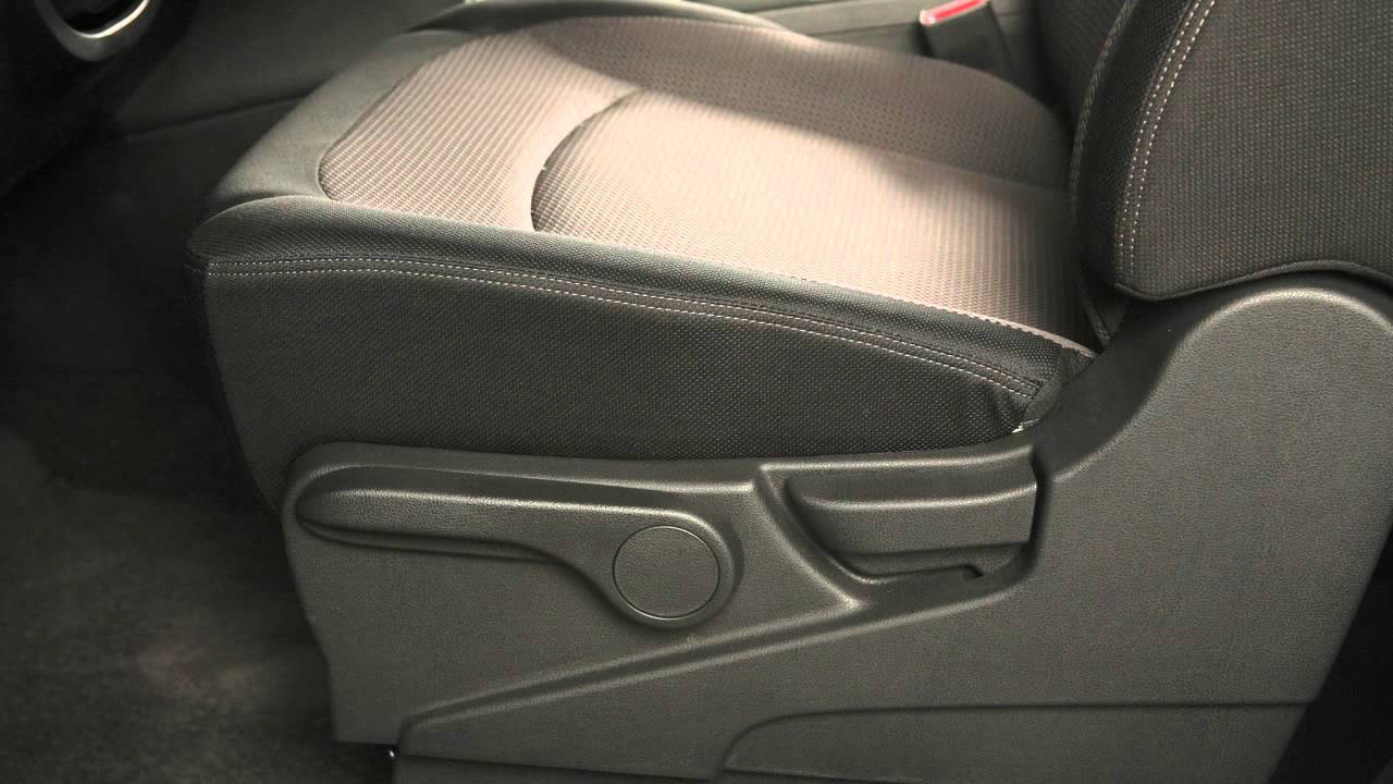 2013 Nissan Rogue Seat Adjustments Youtube