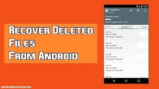 HowTo20 | Πως επαναφέρουμε αρχεία που έχουμε διαγράψει στο κινητό !