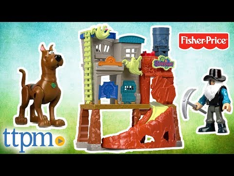 Imaginext Scooby-Doo Haunted Ghost Town Playset Review | Fisher-Price Toys