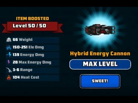 Super Mechs] 🤖 MAX Hybrid Energy Cannon! *Mythical Maxing ...