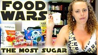 Worst Snack Foods, Unbelievable Sugar Amounts! Food Battle, Nutrition & Diet Information