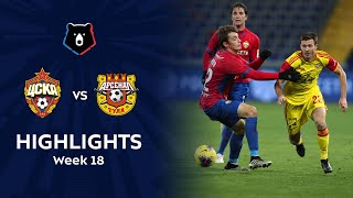 Highlights CSKA vs Arsenal 0 1