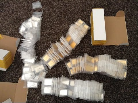 Unboxing my Large Gold and Silver Bullion Bars