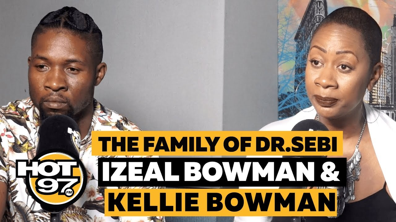 Dr  Sebi's Daughter & Grandson Discuss His Legacy + Nipsey Hussle's