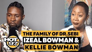 Dr.Sebi's Daughter & Grandson Discuss His Legacy + Nipsey Hussle's Documentary