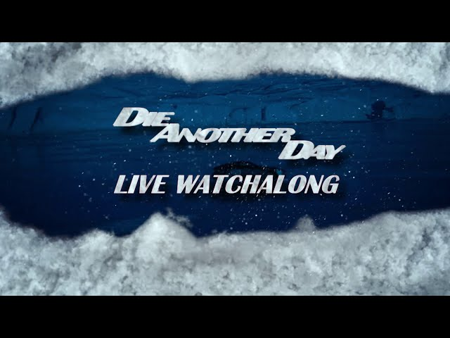 JOIN US for our DIE ANOTHER DAY watchalong THIS THURSDAY 🍸