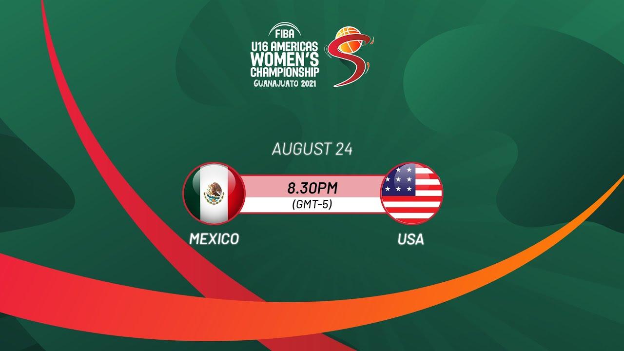 Download Mexico v USA | Full Game - FIBA U16 Americas Women's Championship 2021