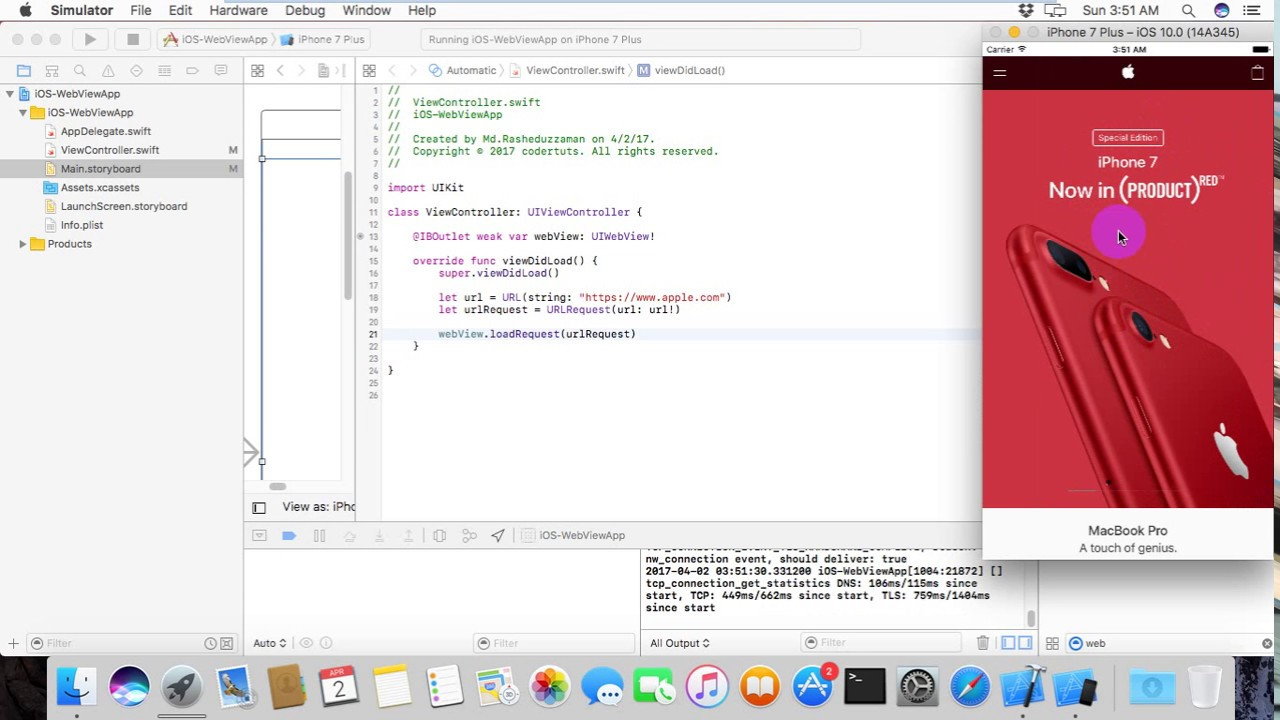Make your own iOS webview app in 5 minutes
