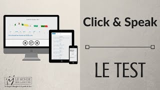 CLICK & SPEAK - La méthode pour apprendre l'anglais oral