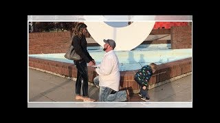 Video of son peeing during Michigan proposal goes viral