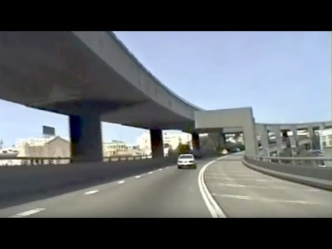 San Francisco's Old Central Freeway 1992 -- Dashcam