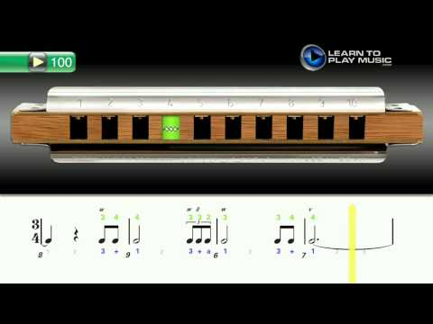 Harmonica harmonica tabs how to read : Ex100 How to Play Harmonica - Harmonica Lessons for Beginners ...