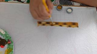 Pintando cesta com lia ribeiro