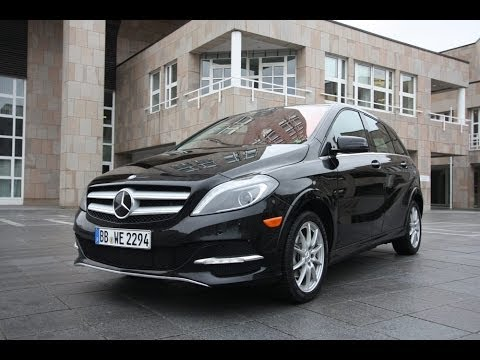 Angetestet Mercedes Benz B Klasse Electric Drive B Class Ed Us