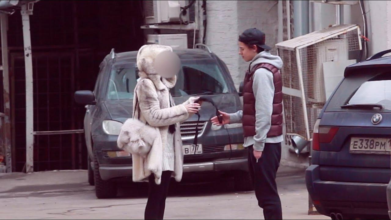 Смотреть все как рксски пикапери разводять за денег на улице