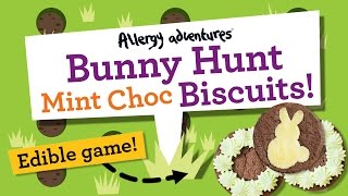 Easter Bunny Hunt Mint Choc Cookies! (dairy Free, Egg Free, Gluten Free, Nut Free.)