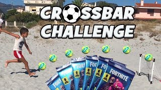 CROSSBAR CHALLENGE - Every traverse a BUSTINA of FORTNITE (MEGA STARTER PACK by Fortnite Panini)