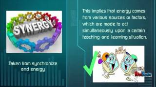 SYNERGY OF TECHNOLOGY WITH BASIC LEARNING THEORIES, PRINCIPLES AND PRACTICES Part 1
