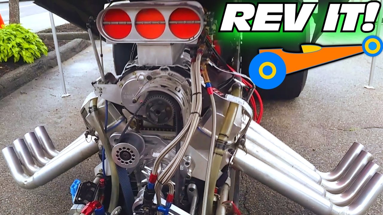 CRAZY LOUD DRAGSTER w/ Ice Cold Engine & Exhaust | LOUDEST Race Car at  Sanford Sound