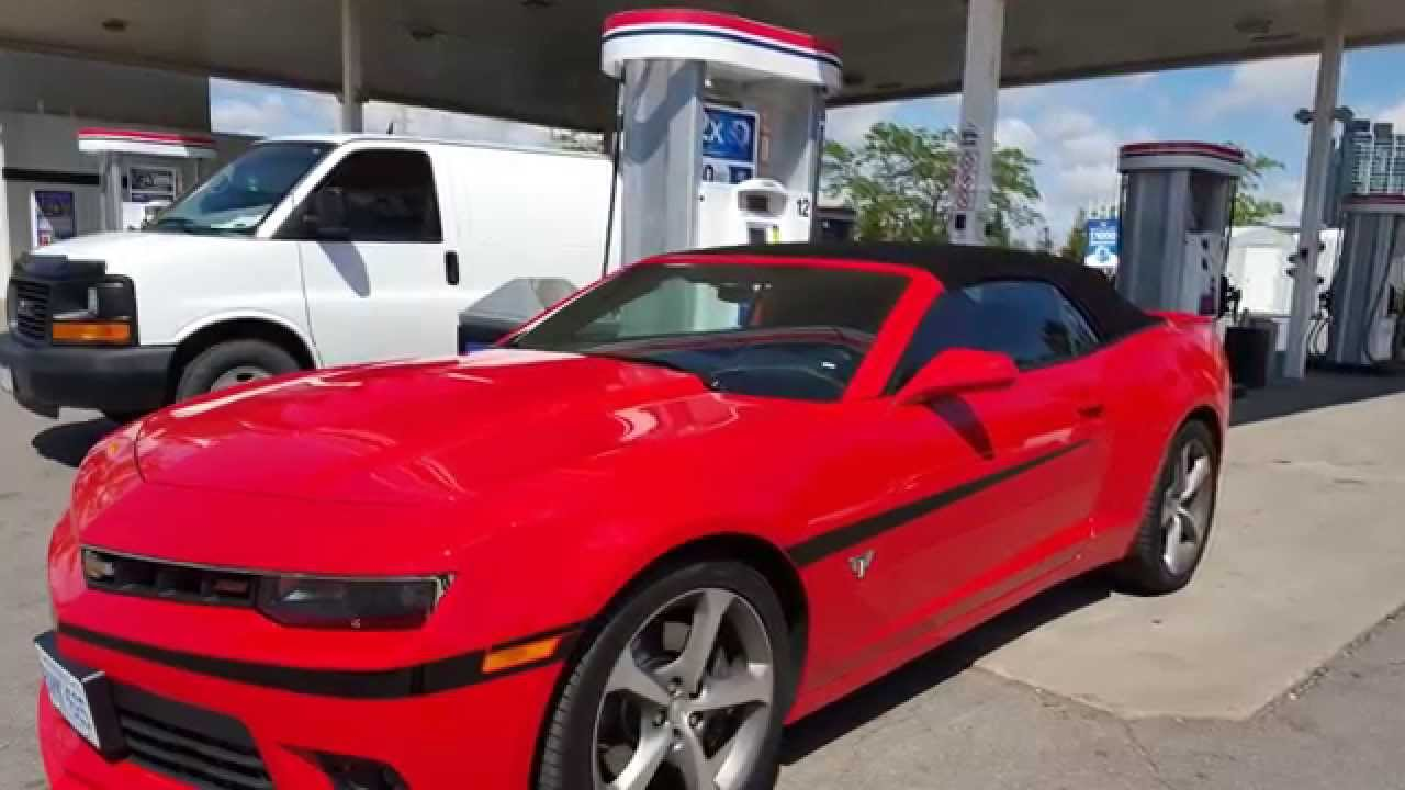 2015 chevrolet camaro ss fuel economy fuel costs youtube. Black Bedroom Furniture Sets. Home Design Ideas
