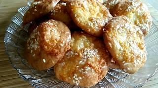 Воздушное сырное печенье.