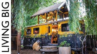 Ww2 Railway Train Car Transformed Into Amazing Tiny House