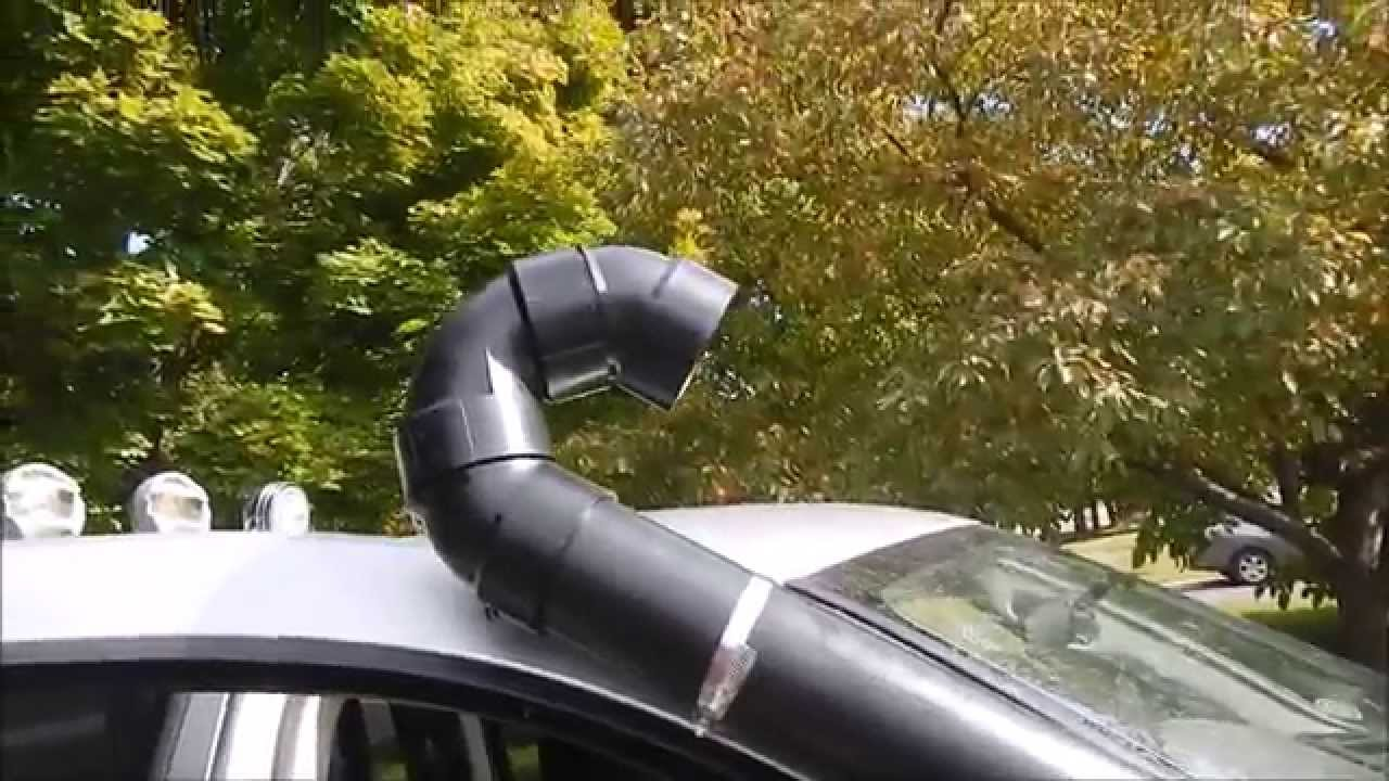 DIY Snorkel For a Mud Truck