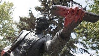 Man claims responsibility for vandalizing John A. Macdonald statue