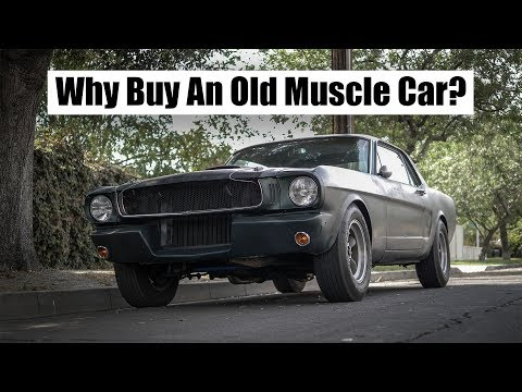 5 Reasons Why You Should Buy An Old Muscle Car | 4k