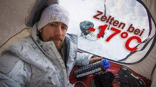 Zelten bei -17°C - Adveฑture Vlog 22 - Carinthia G250, NatureHike Cloud-Up 2
