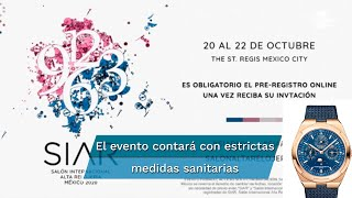 El evento contará con al menos 35 firmas relojeras y se llevará a cabo en el hotel St, Regis Mexico City, con la intención de funcionar como catalizador para el desarrollo de la industria