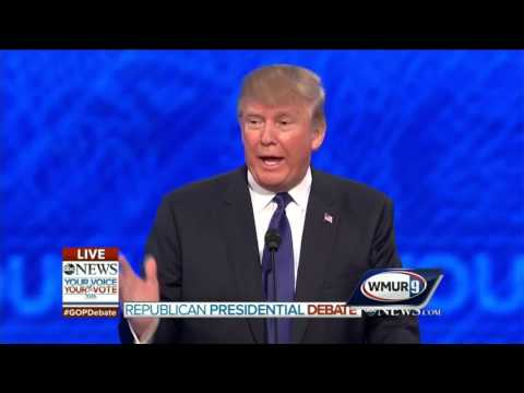 2016 GOP Debate: Donald Trump on his ability to make deals