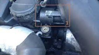 fuite d'huile sous la voiture 407 Réparation Durite Reniflard - بلف التبخير