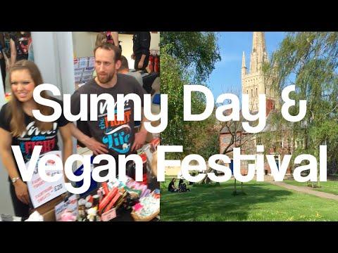 Norwich Vegan Festival in sunny Norwich - Day In The Life (tEDV 82)