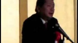 【中川秀直】1221大分「逆コースをたどってはいけない」 中川秀直 検索動画 29