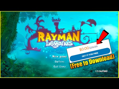 Rayman Legends Standard Edition Uplay Activation Key Download & Play (Free To Download)
