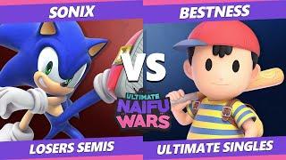 Naifu Wars 13 Losers Semis - ARM | BestNess (Ness) Vs. Sonix (Sonic) SSBU Singles