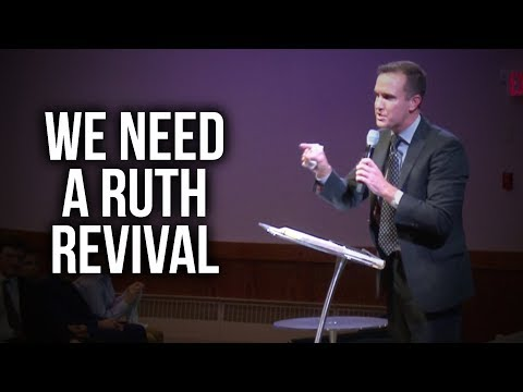 """We Need a Ruth Revival"" – Joel Urshan"