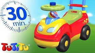 Игрушки для малышей | Кататься на машинке | 30 минут ТуТиТу Игрушки