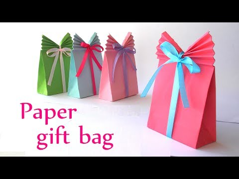 WN - how to make gift bags from wrapping paper