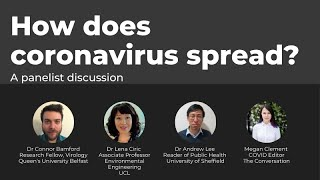 How does coronavirus spread?
