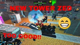 NEW ZED TOWER | REVAMPED VOID | (Roblox Tower Battles)