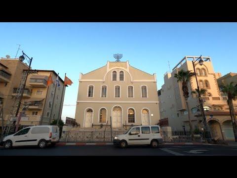 4K Rishon LeZion Driving In Israel 2020 נסיעה בראשון לציון ישראל