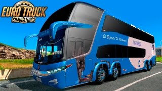 Marcopolo Paradiso G7 1800 DD 8x2 l Euro Truck Simulator 2 l 1 21